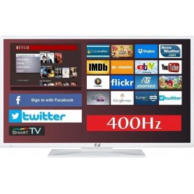 TV 43 LED FLS43798NWH smart tv netflix 400Hz ΛΕΥΚΗ F&U